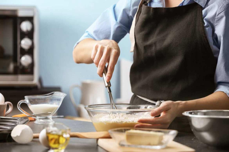CBD oil cooking, italian kitchen