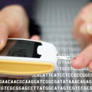 diabetes blood test kit